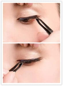how to wear mink eyelashes