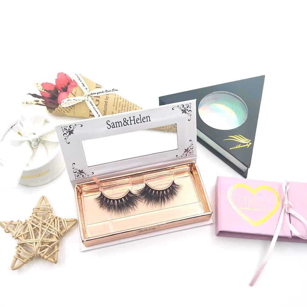 custom eyelash packaging with private label