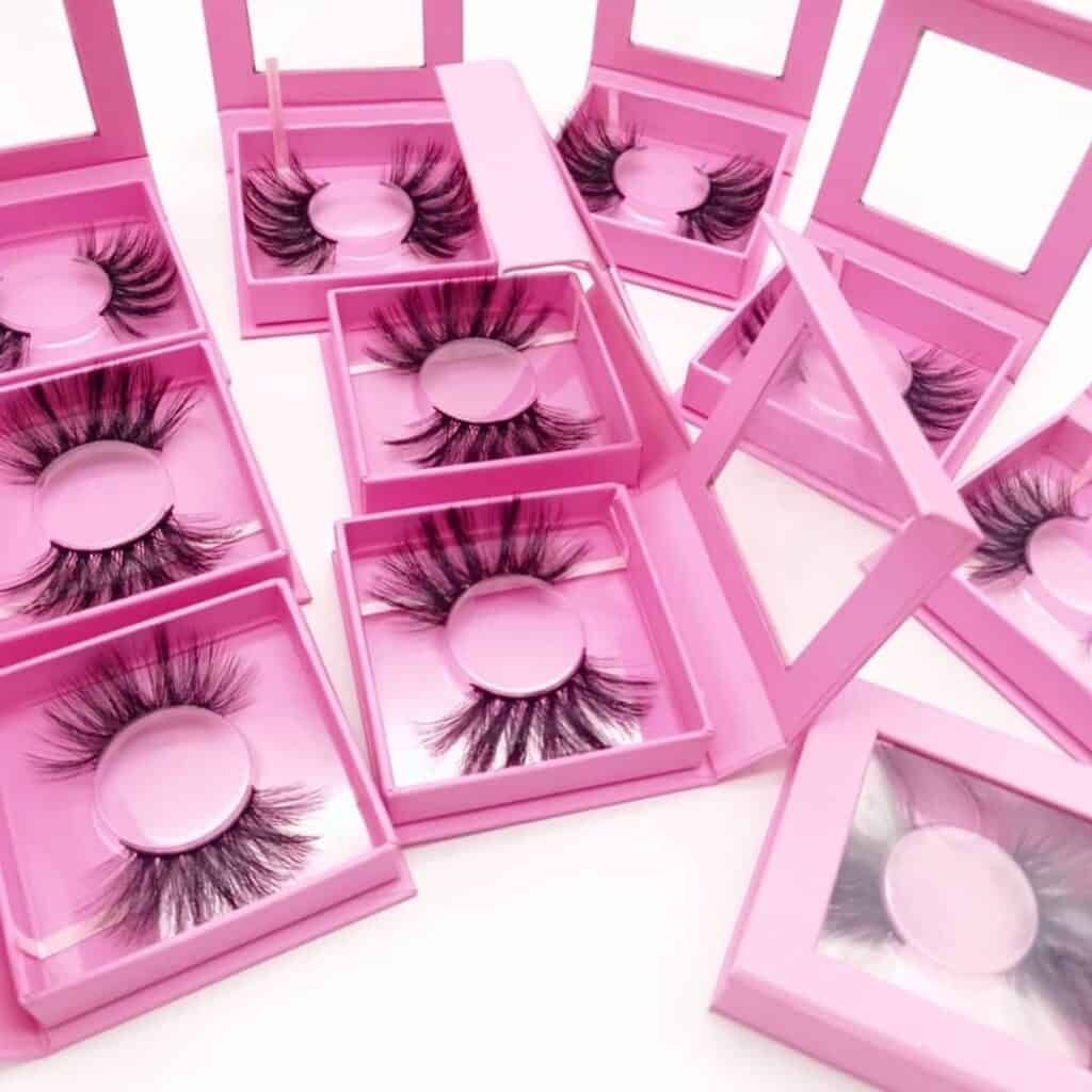 square lash package