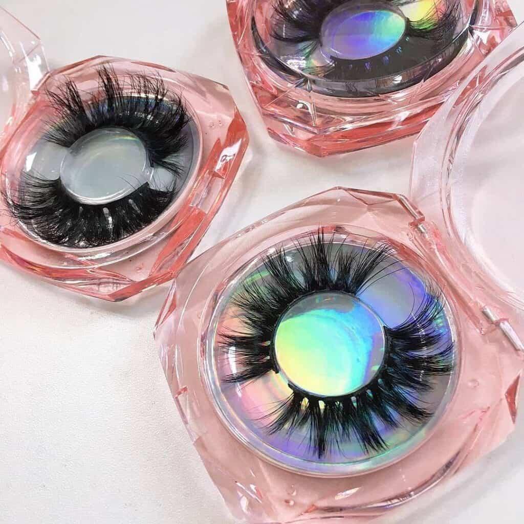 eyelashes packaging vendors China boxes
