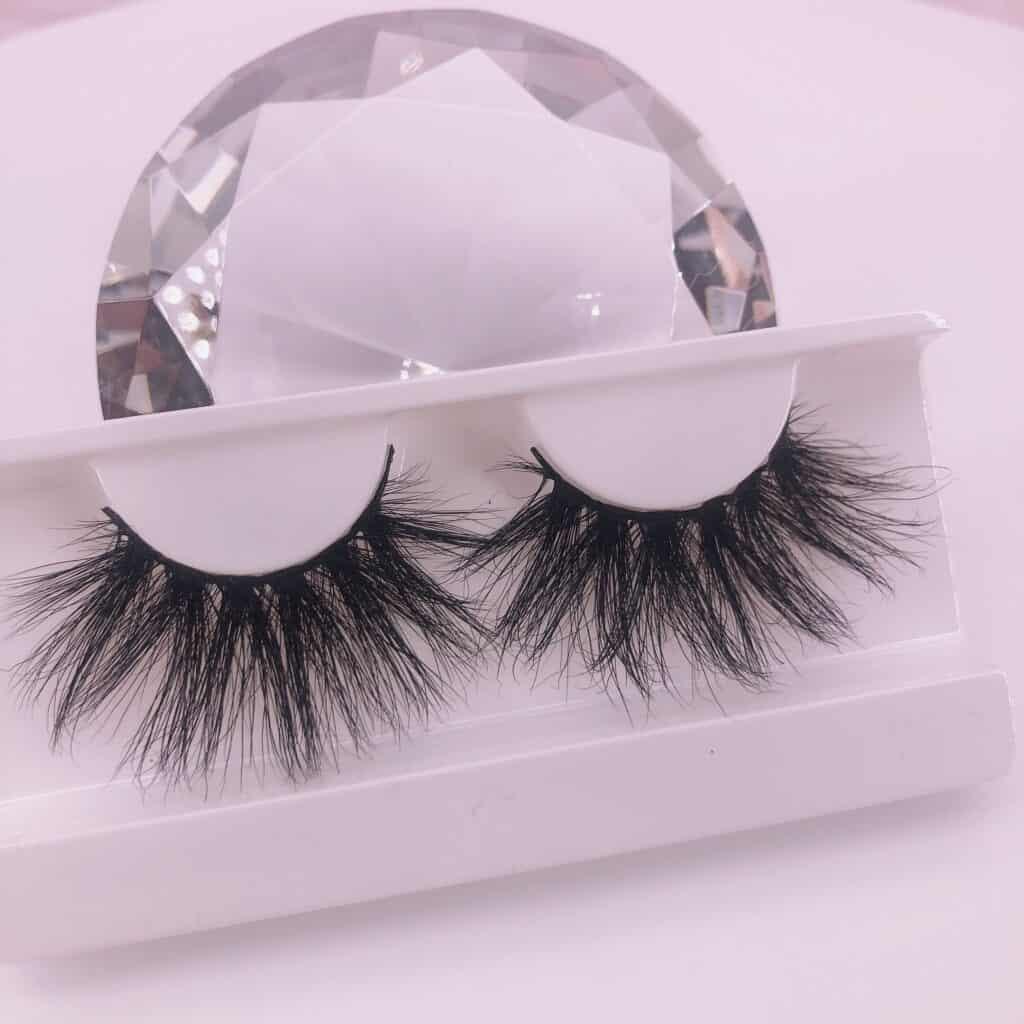 25mm lashes vendor wholesale 25mm mink lashes