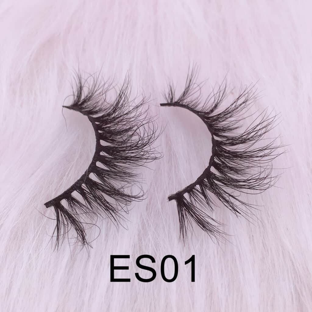wholesale 16mm mink lashes