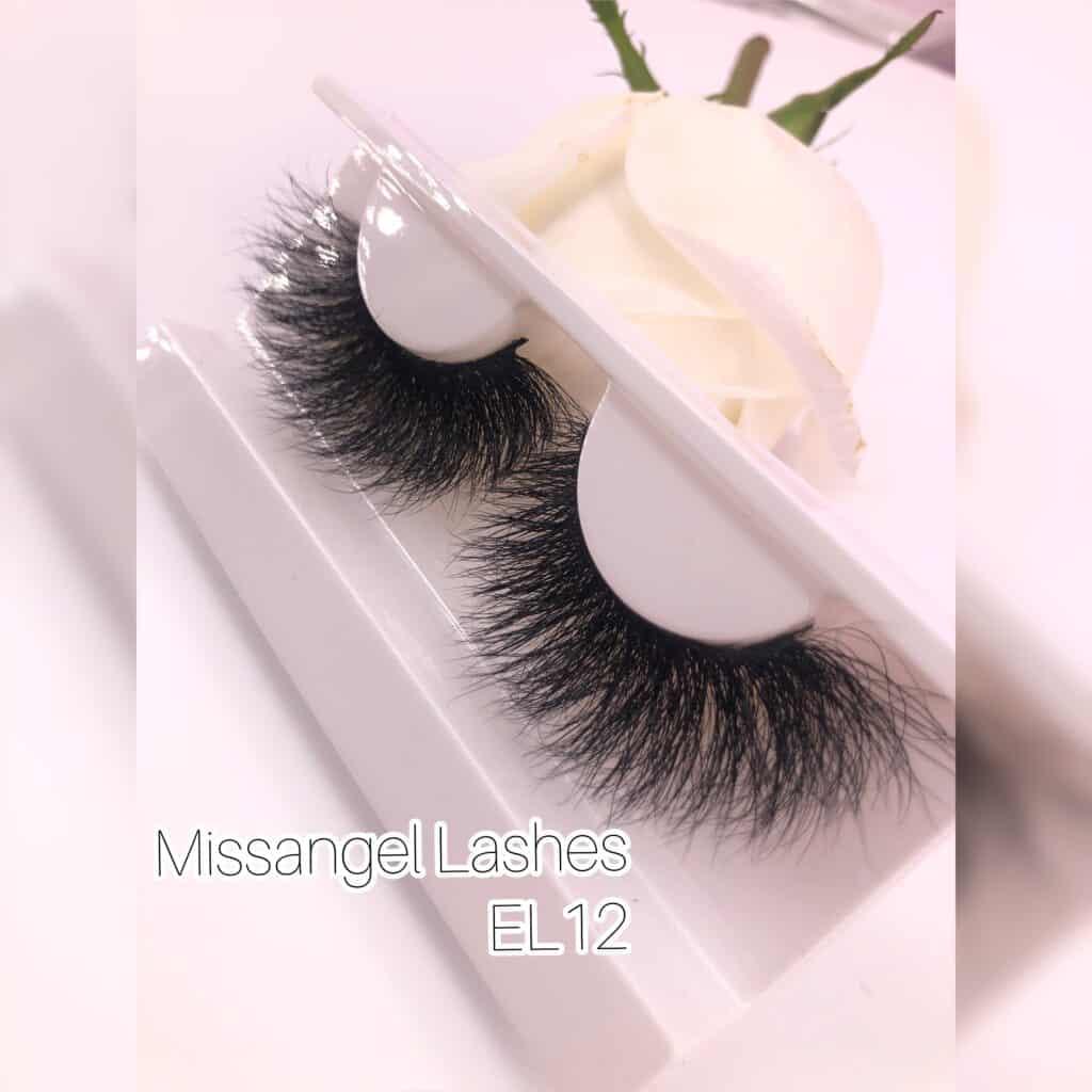 thick 25mm mink eyelashes vendors