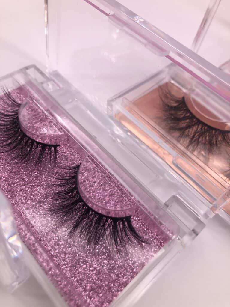 wholesale cheap eyelash cases for mink lashes