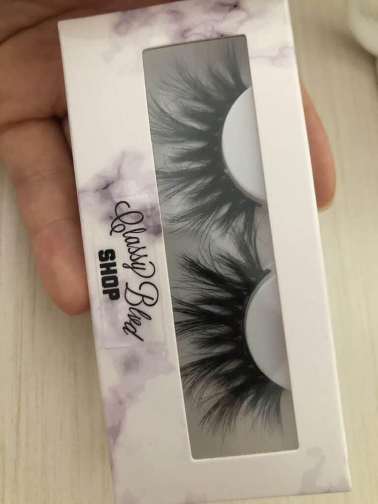 free eyelash packaging boxes