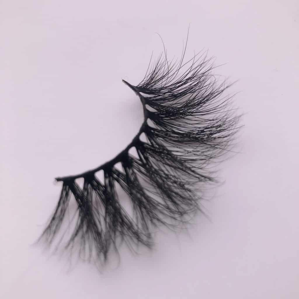 3d mink strip lashes wholesale 25mm eyelashes vendor