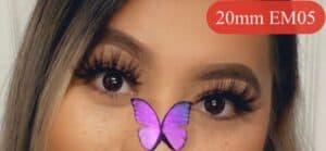 20mm Eyelashes 3D Mink Lashes