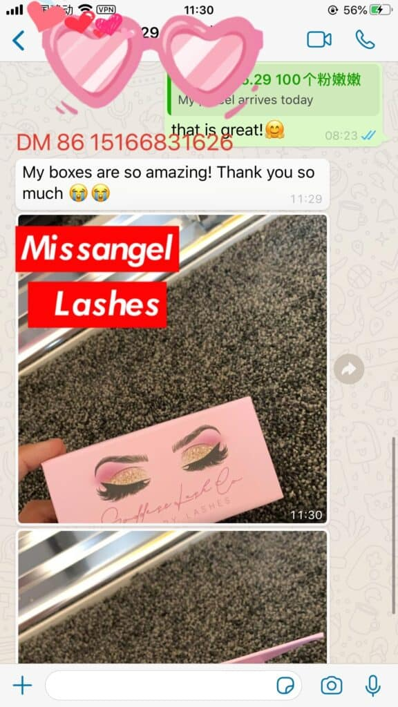 wholesale mink lashes and boxes vendors