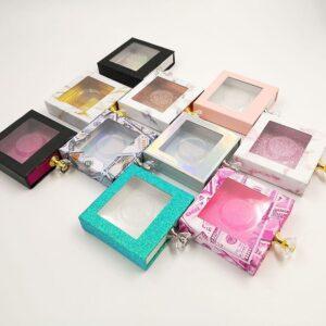 custom eyelash boxes for 3D Mink Lashes