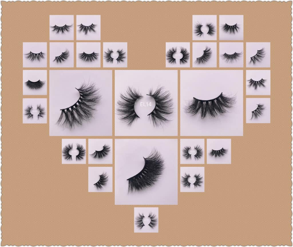 25mm wholesale mink eyelashes