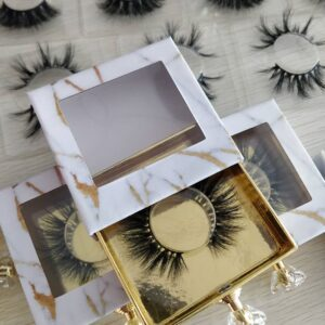 3d mink lashes and wholesale lash packaging