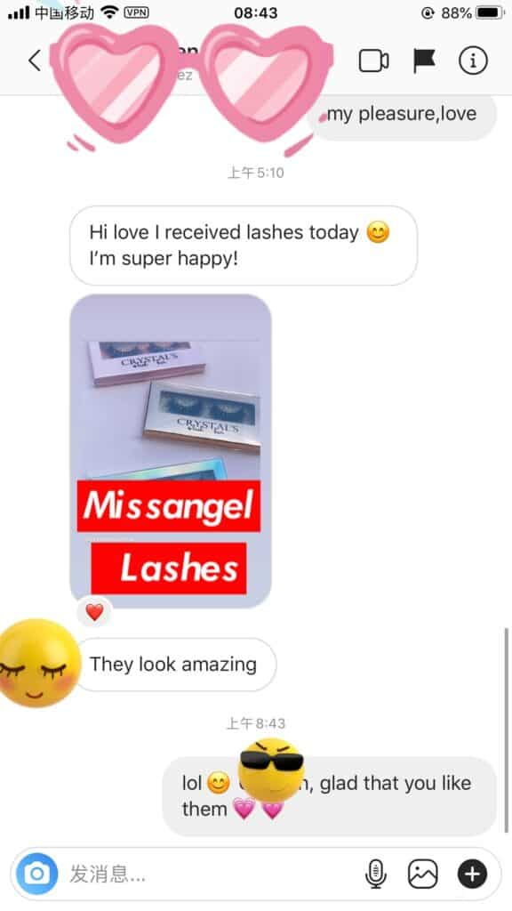natural mink lashes and lash packaging boxes wholesale vendors