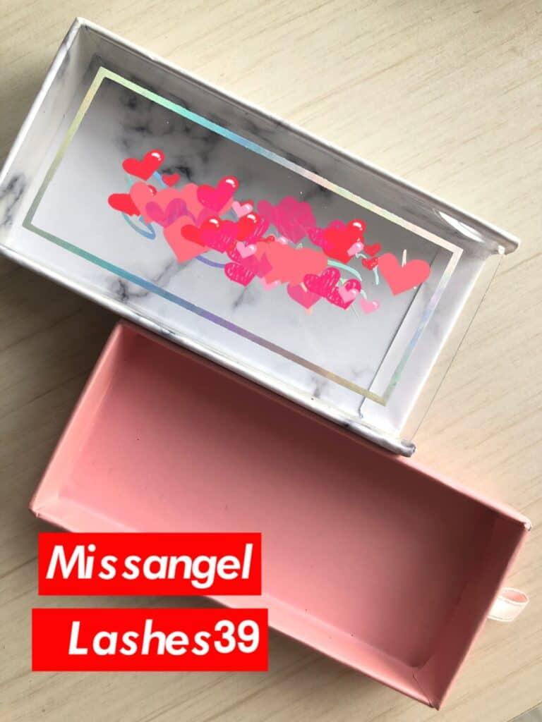 cheap eyelash box manufacturer and 3d false lashes supplier