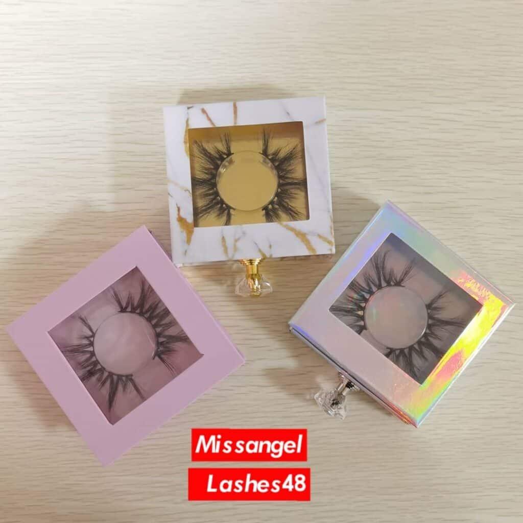 mink lash packaging boxes wholesale vendors