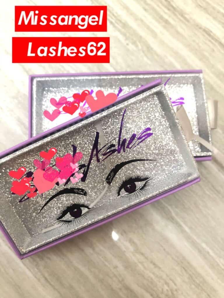 custom lash packaging boxes design