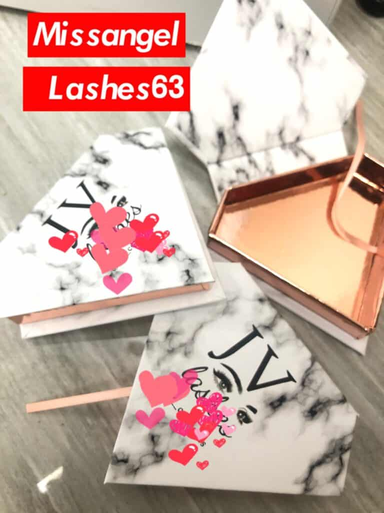 diamond lash packaging