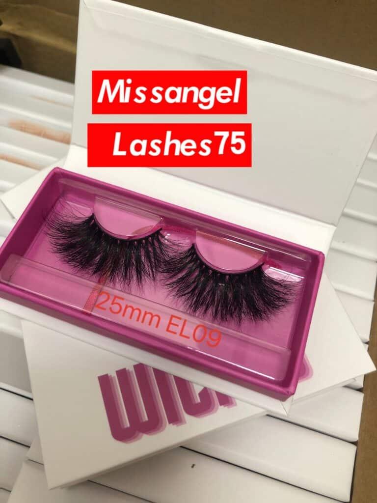 Pink Inside Lash Packaging