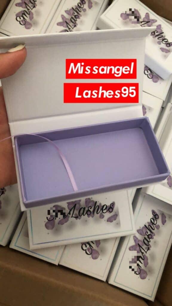 diy eyelash packaging boxes