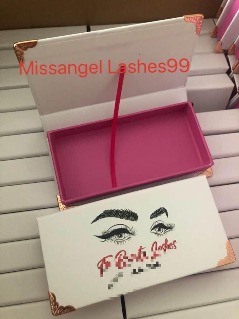 diy lash packaging boxes