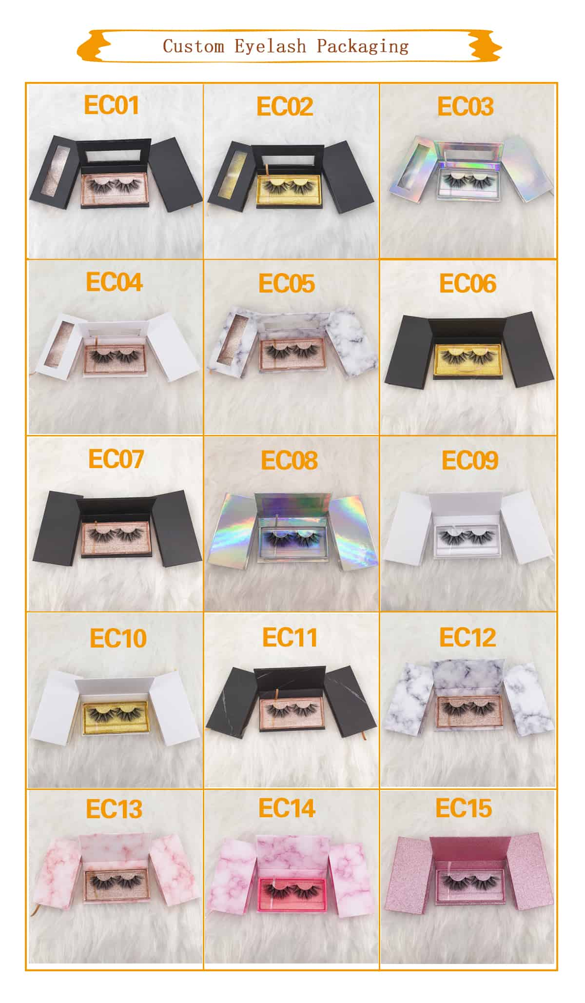 custom lash cases with private label