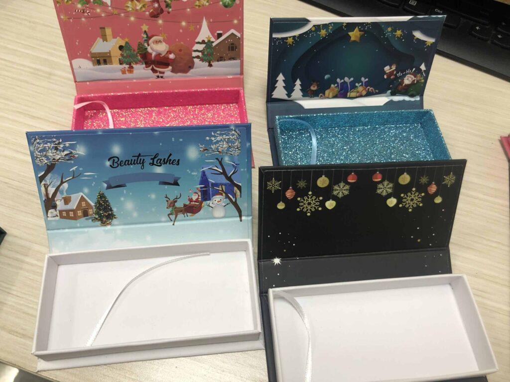 Luxury Lash Packaging Boxes Mink Lash Vendors