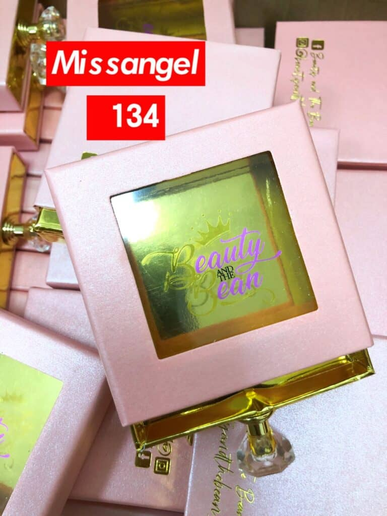 Square Custom Eyelash Packaging Boxes