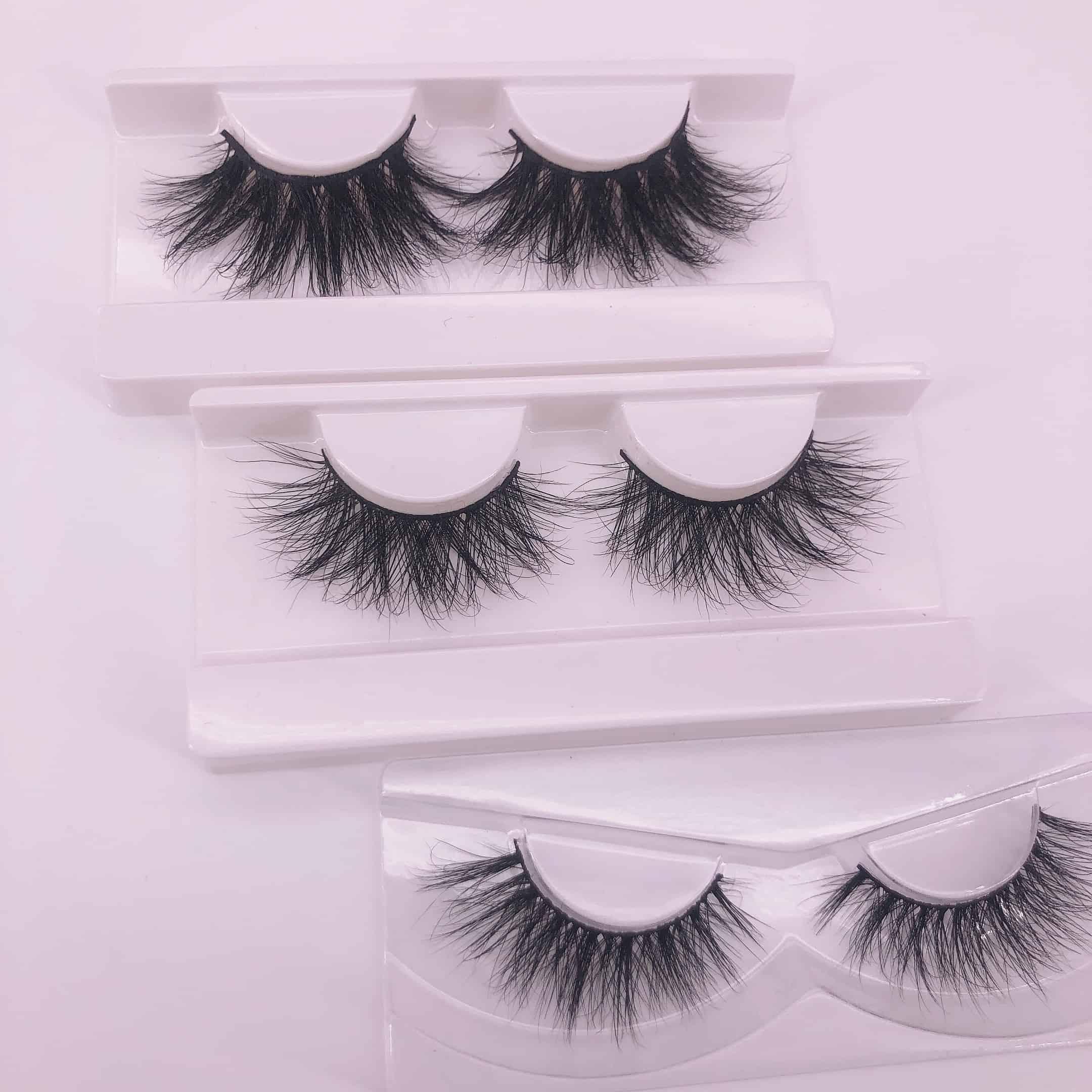 20mm lashes VS 25mm lashes VS 16mm lashes
