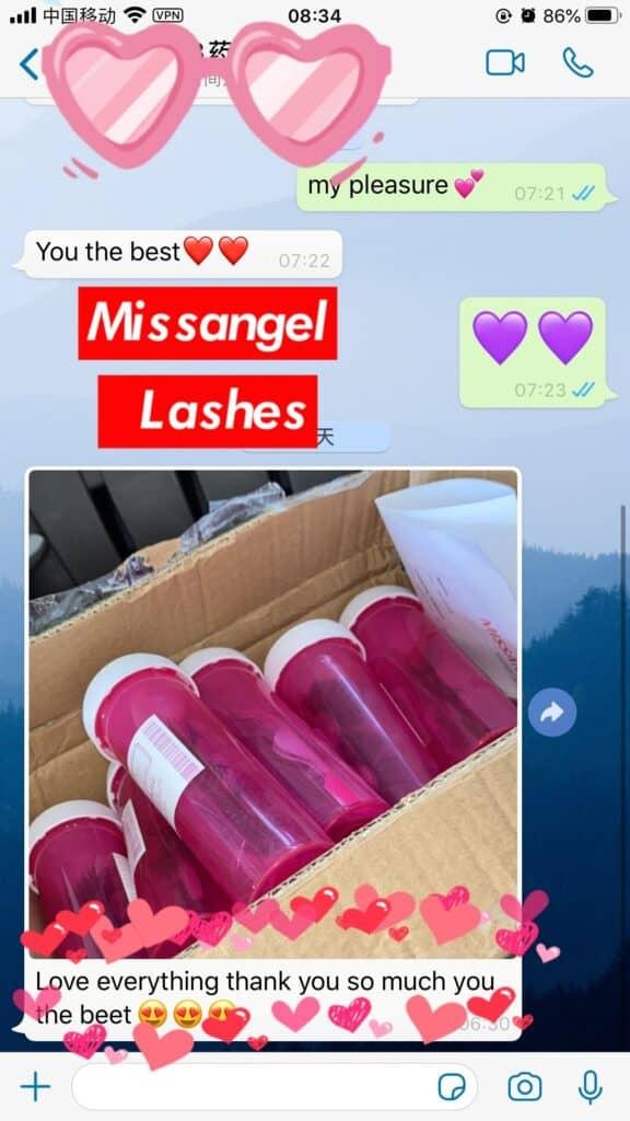 lash medicine bottle packaging