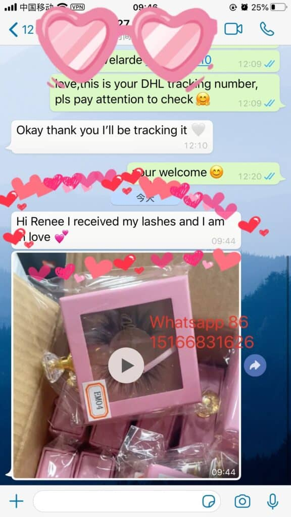 wholesale mink lashes and own logo box