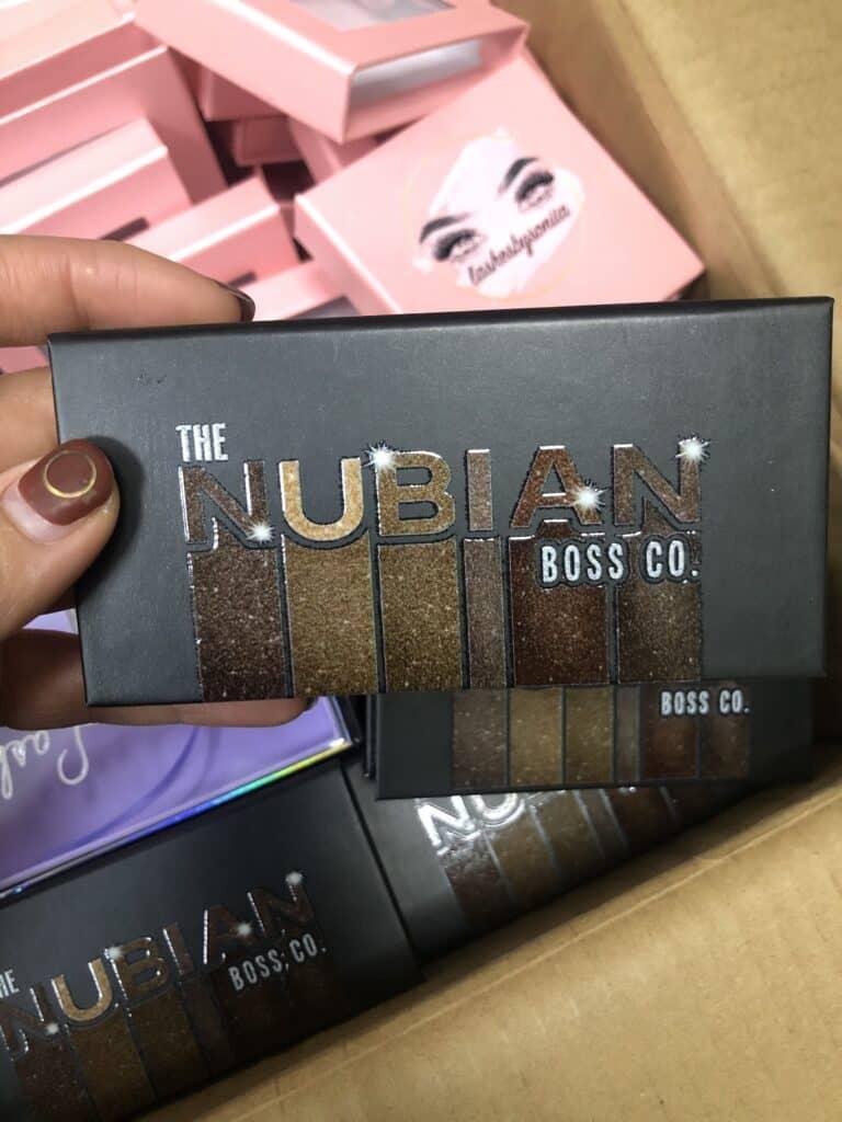 eyelash packaging boxes vendors