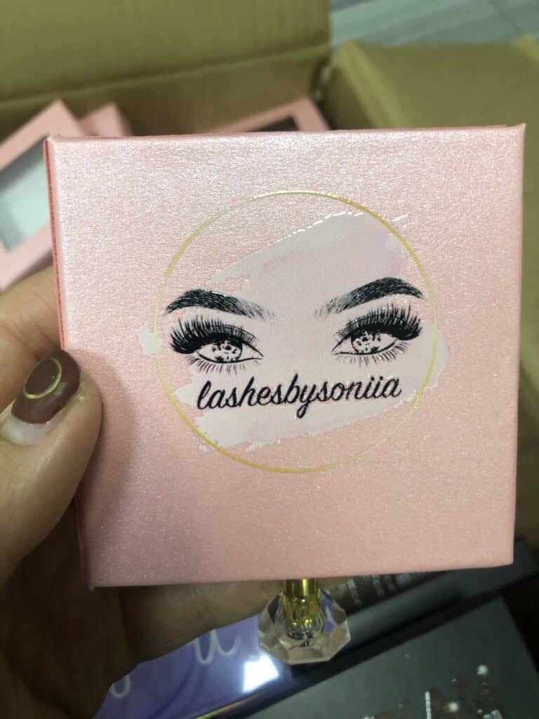 3d lash packaging boxes manufacturer