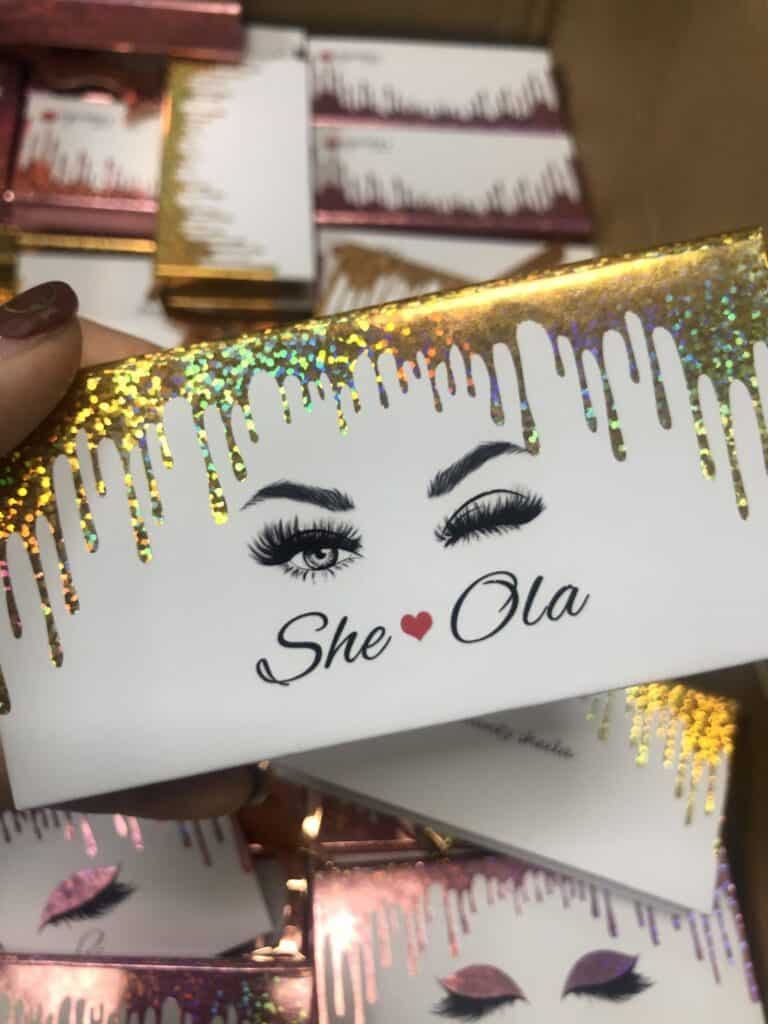 cheap eyelash packaging box wholesale vendors
