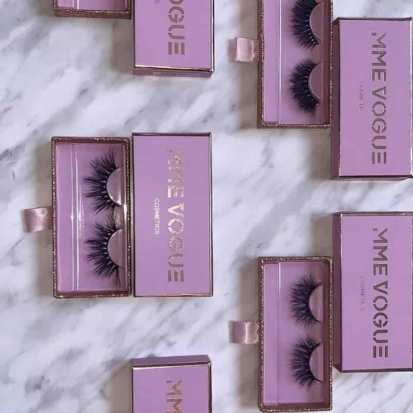 lash boxes for mink lashes
