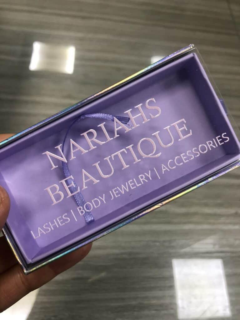 eyelash boxes custom lash packaging
