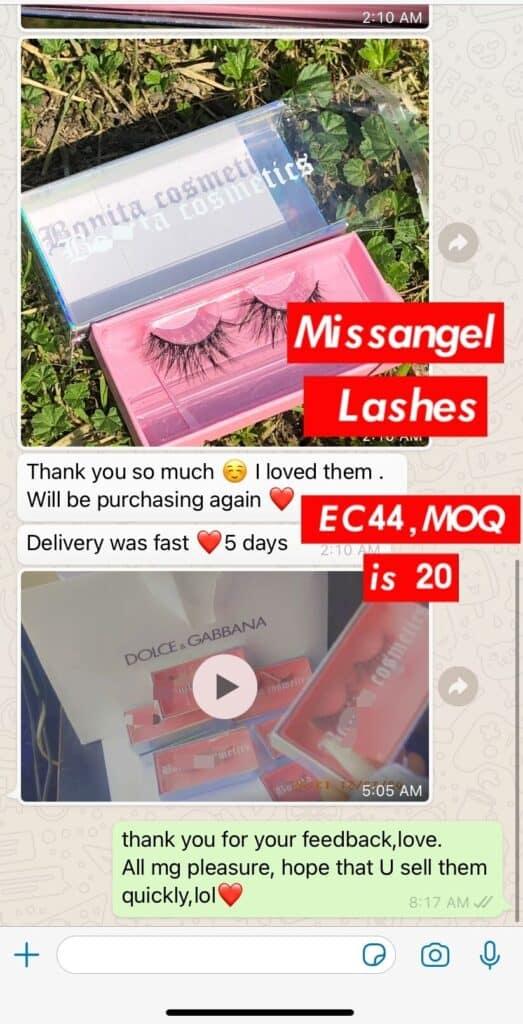 mink lashes and eyelash packaging wholesale vendors