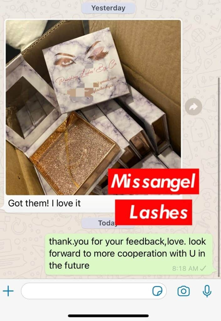 wholesale 3d lashes and eyelash packaging