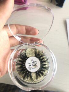 wholesale 25mm lashes and eyelash cases