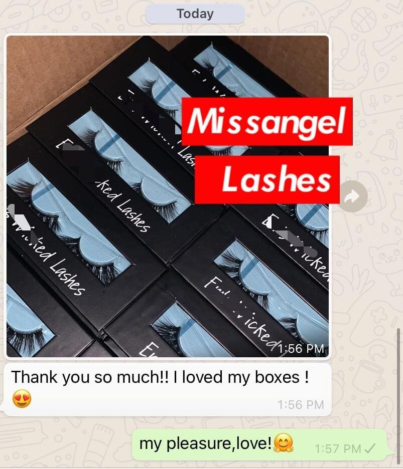 diy eyelash packaging and mink lashes
