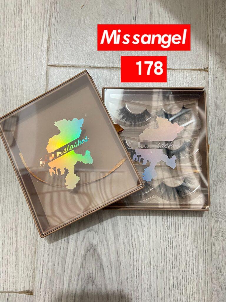 custom brown lash packaging