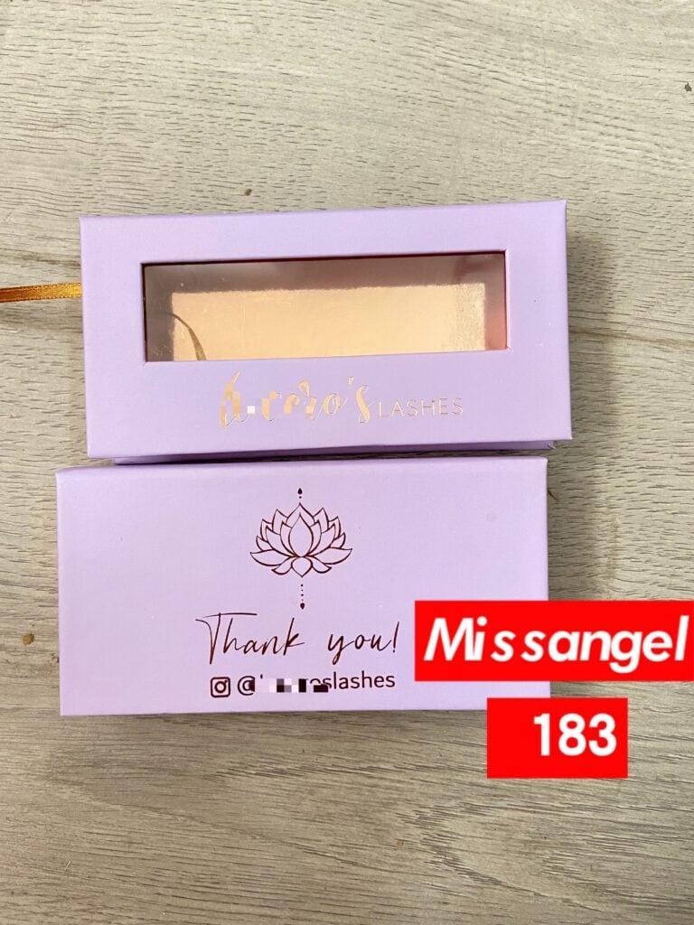 personalised eyelash box supplier