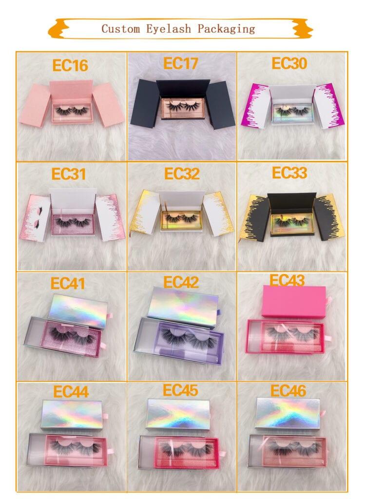 diy eyelash packaging wholesaler