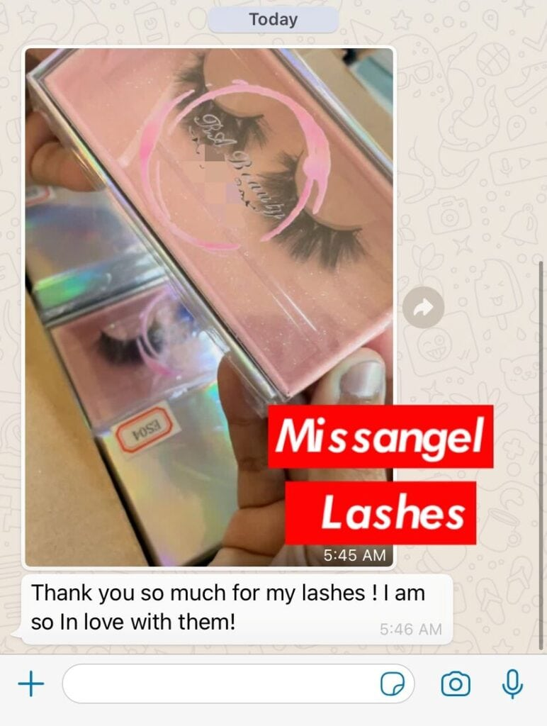 wholesale 16mm lashes and eyelash packaging
