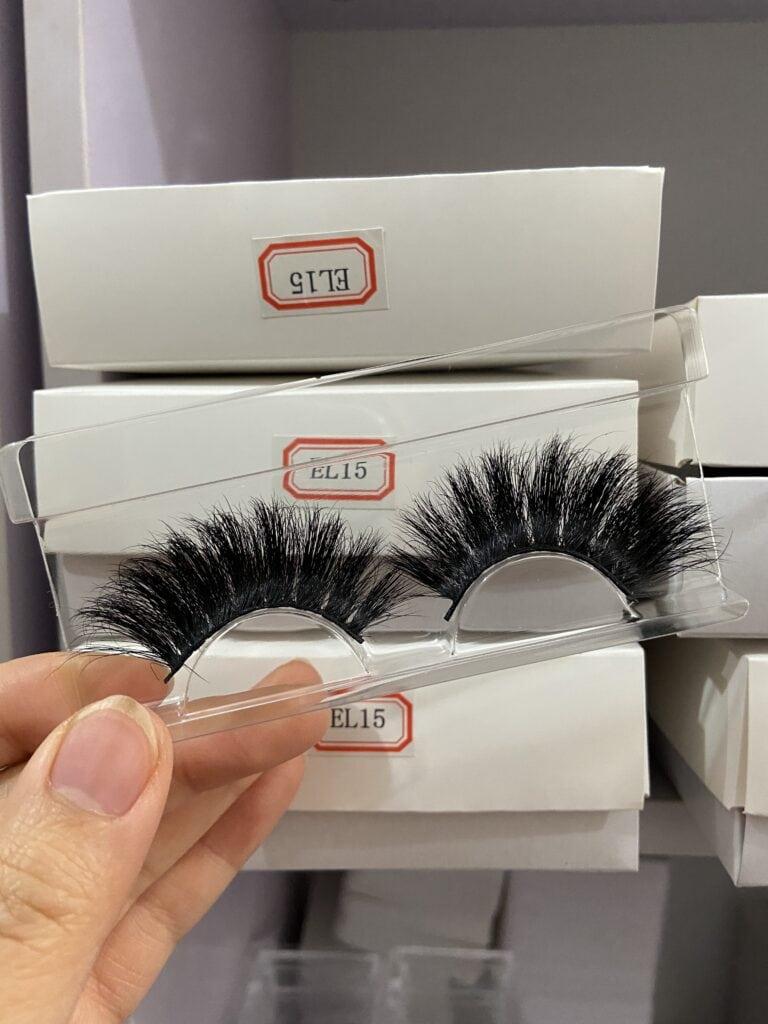 unique long lashes