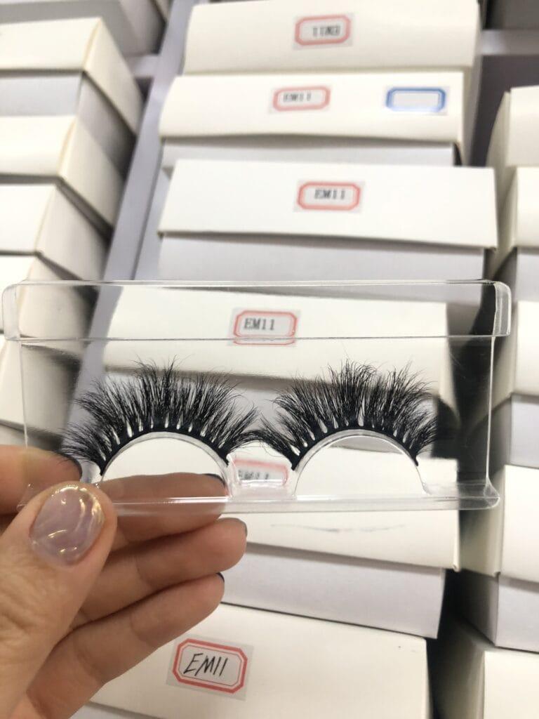 false eyelash business