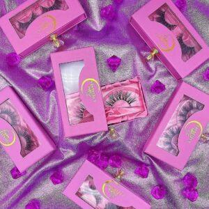 how to make own eyelash packaging