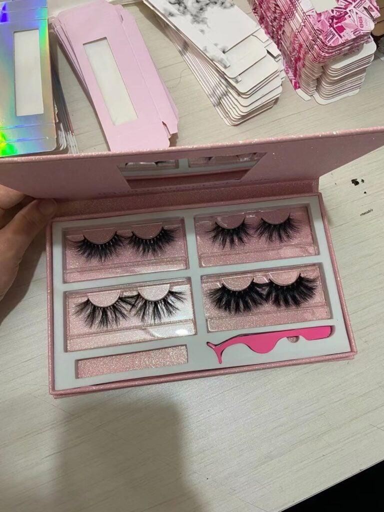 wholesale lash kits and eyelash books
