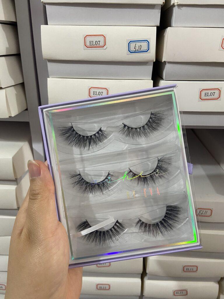 eyelash books with own logo
