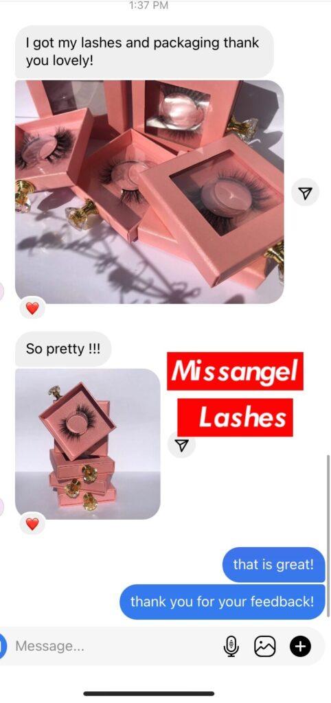 wholesale mink lashes and eyelash packaging
