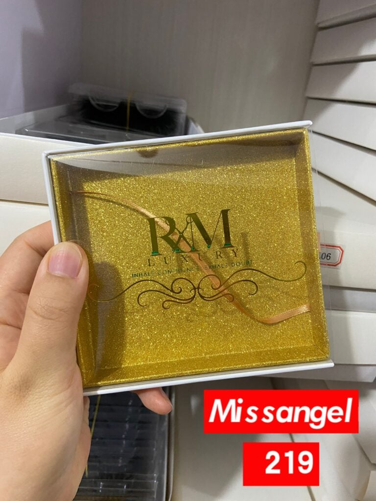 gold glitter lash kits