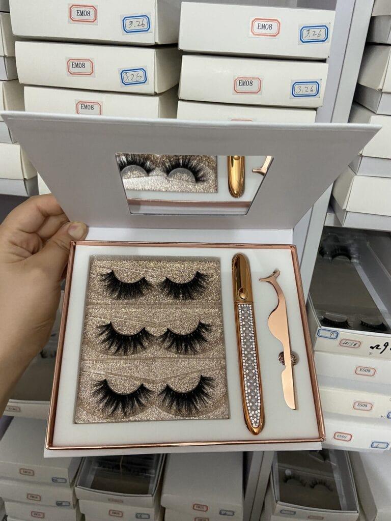 custom eyelash kits wholesale vendors